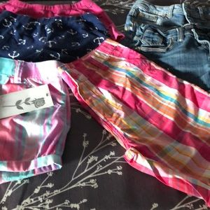 6 pc girls summer bundle size 10-12